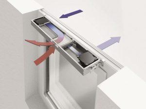 Фальцевые приточно-вентиляционные приспособления