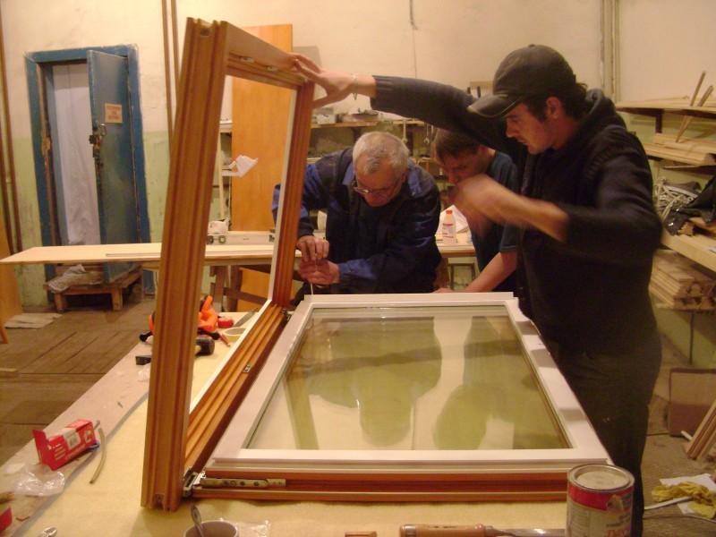 Ремонт и восстановление деревянных окон что входит