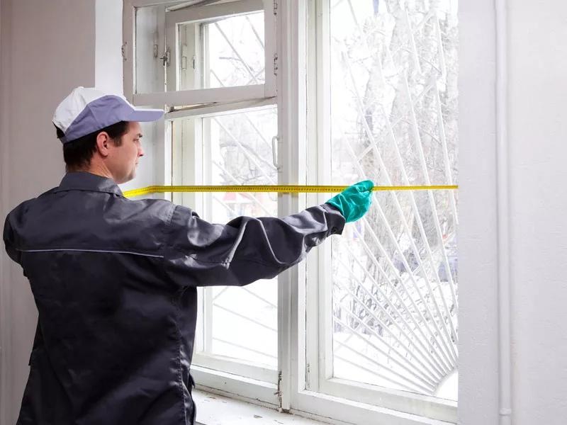 Как замерить окно для установки