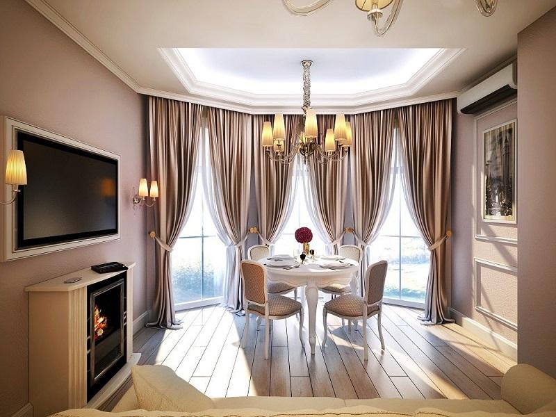 Эркерные окна в квартире