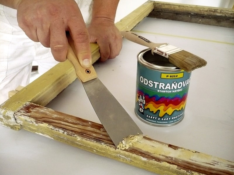 Подготовка деревянной рамы